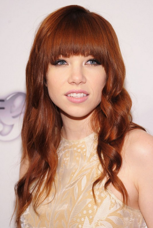 Carly Rae Jepsen's Bleached Blonde Pixie Hairstyle - Teen ...
