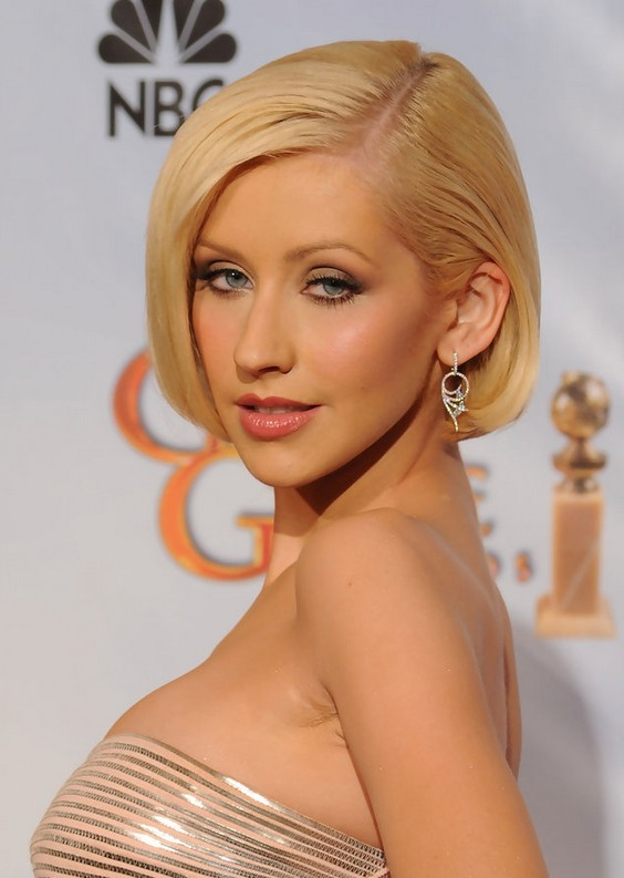 Christina Aguilera Bob: Chic Short Haircut