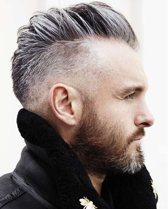 Beard Styles with Short Hair - Men Haircuts