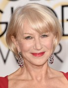 Helen Mirren Short Bob Haircut - Short Hair Styles for Older Women