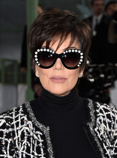 Kris Jenner Short Layered Razor Haircut - Short Hairstyle Ideas for Women Over 40