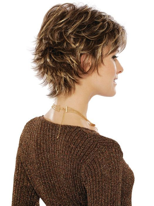 Short Shaggy Hair Styles Front And Back View