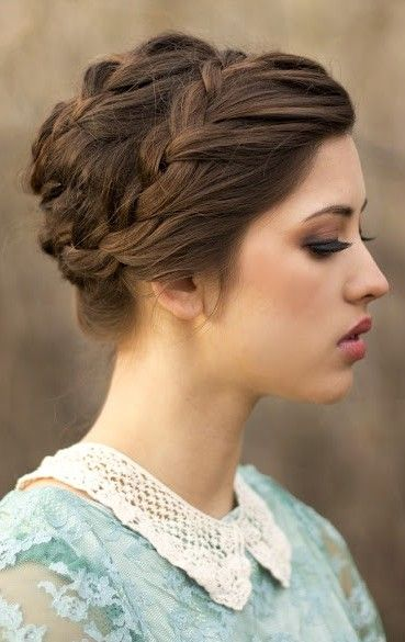 braids for medium hair styles 18 and simple updo hairstyles for medium hair 5287