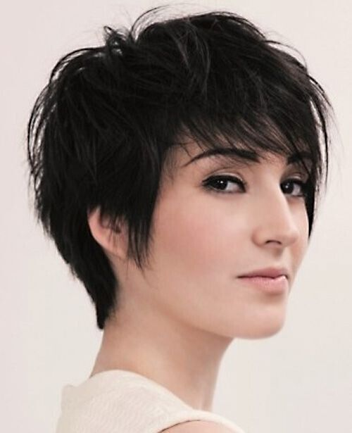 Chic Long Pixie Hair Cut