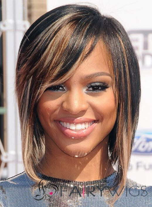 Hottest New Highlights for Black Hair: Brianna Perry Hairstyle Straight Hairstyles
