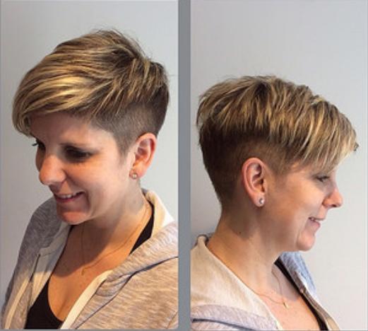 Layered Short Haircut
