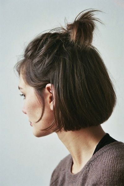 Awesome Cool And Easy Buns That Work For Short Hair  Byrdie