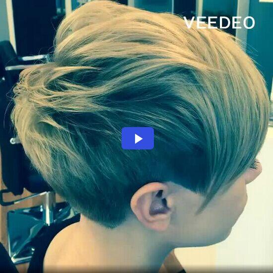 Modern Short Haircut: Versatile Hairstyles