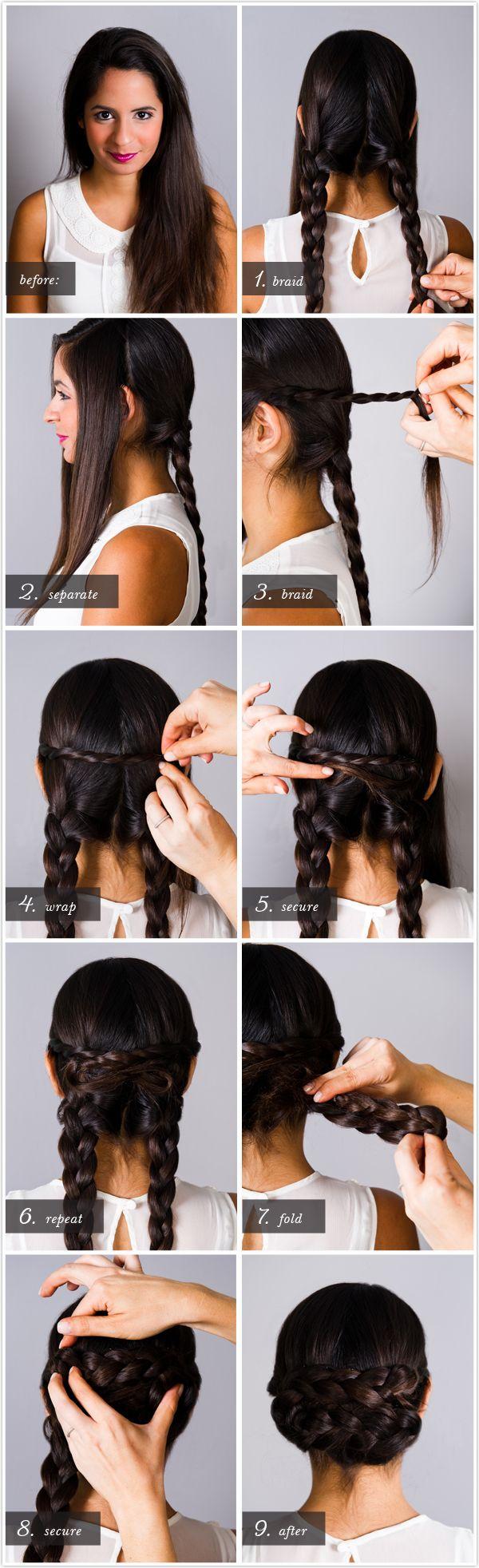 Tremendous Simple Updos Braids Braids Short Hairstyles For Black Women Fulllsitofus