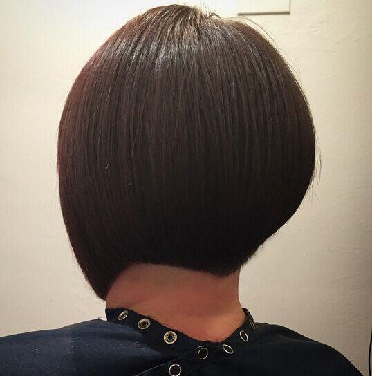Short Bob Haircut Back View Popular Haircuts