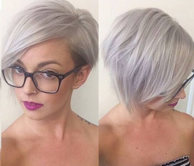 Short Hairstyles with Side Bangs for Girls