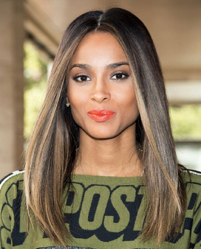 20 hottest new highlights for black hair popular haircuts stylish hair color for black women fall hairstyle ideas pmusecretfo Image collections