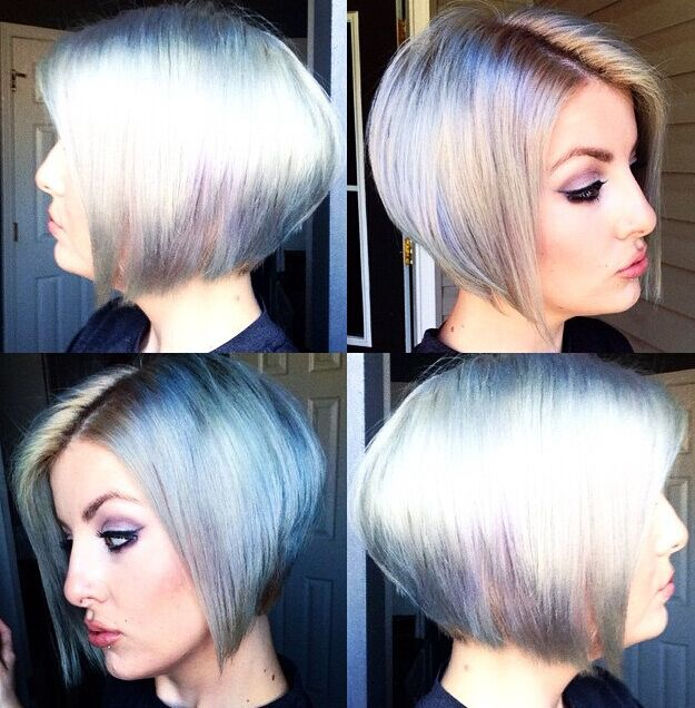 Stylish Hair Color with Short Bob Hairstyles