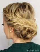 This Fishtail Braided Updo is Perfect for Prom Hair Styles!