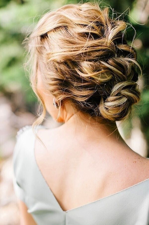 Updo Hair Styles for Long Hair: Prom, Wedding Hairstyle Ideas / Via