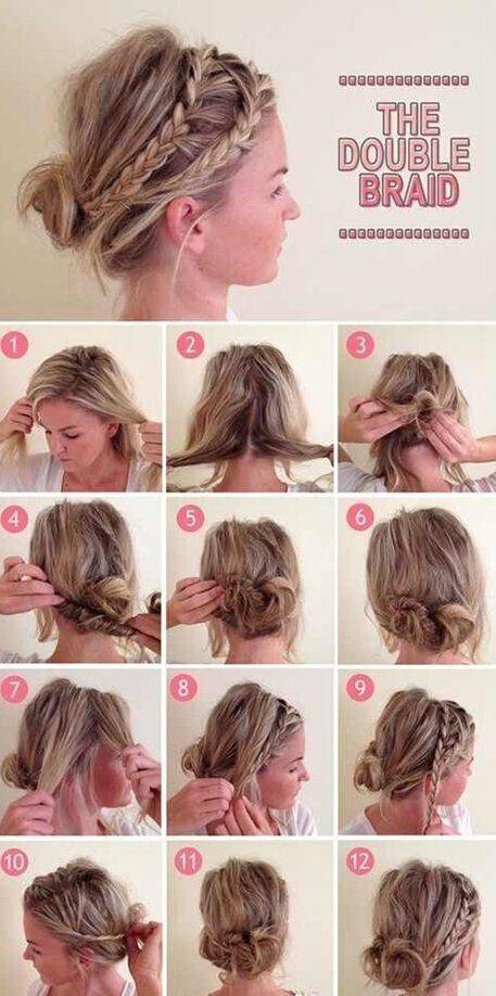 Awe Inspiring Braided Updo Hairstyle For Medium Long Hair Tutorial Short Hair Short Hairstyles For Black Women Fulllsitofus