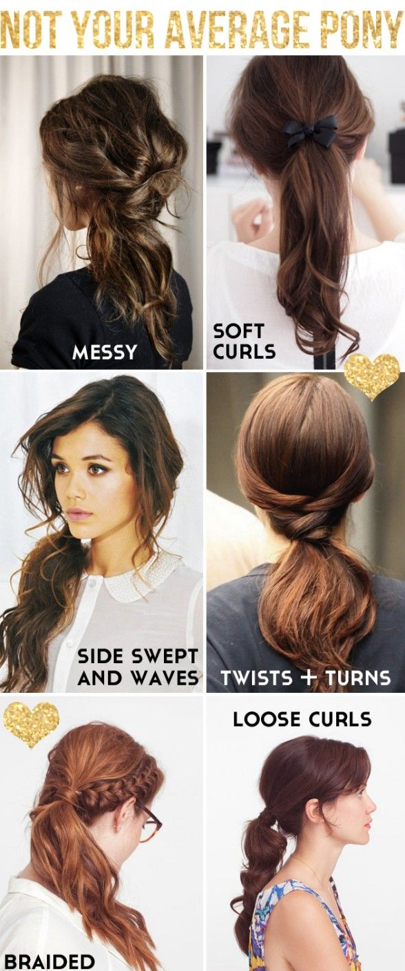 cool hair styles for school