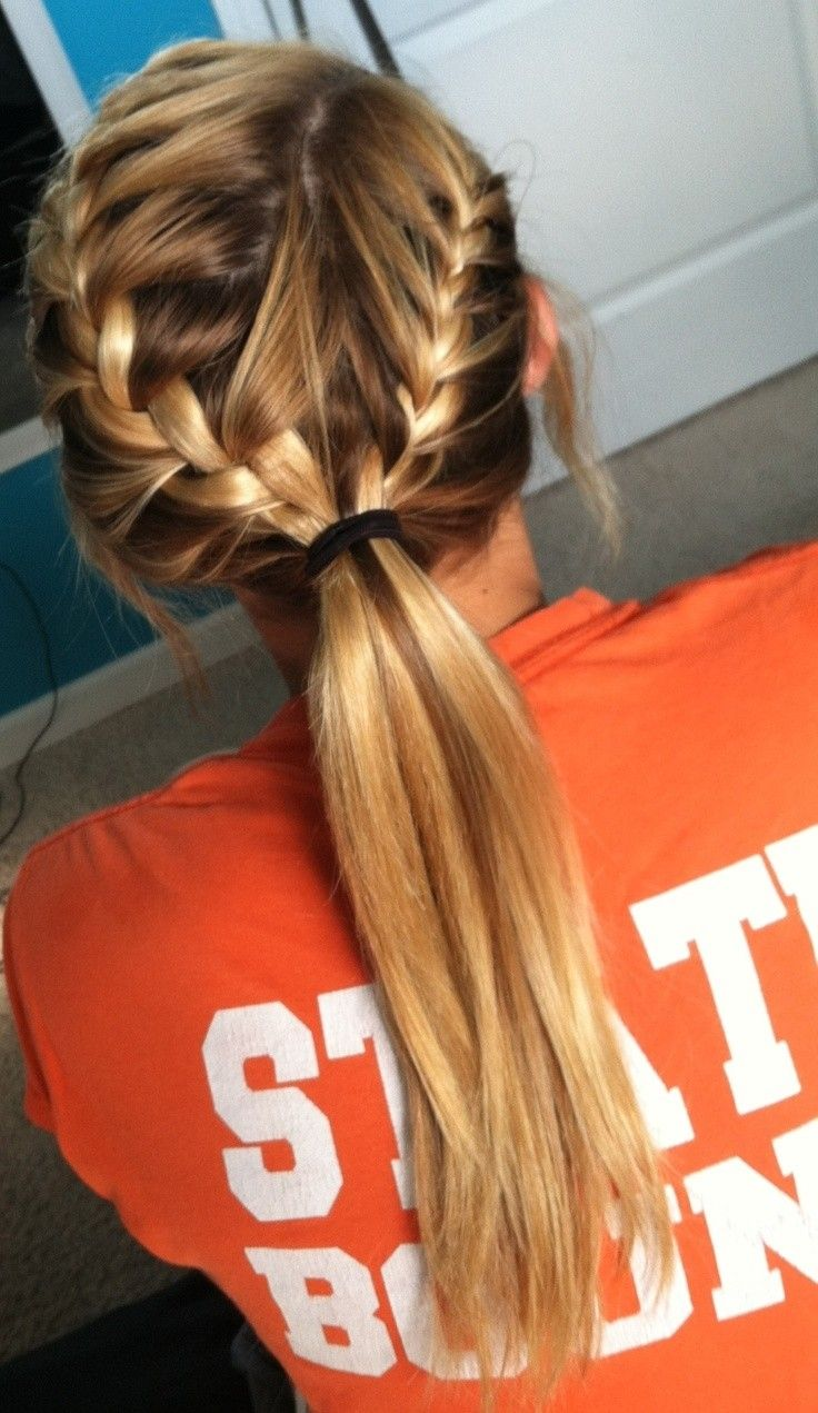 Coolest French Braid Hairstyles with Long Hair