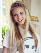 Cute School Hairstyle - Long Hair with Braid Bangs