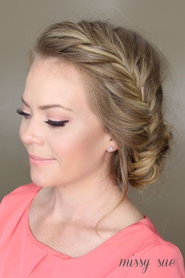 21 All New French Braid Updo Hairstyles Popular Haircuts