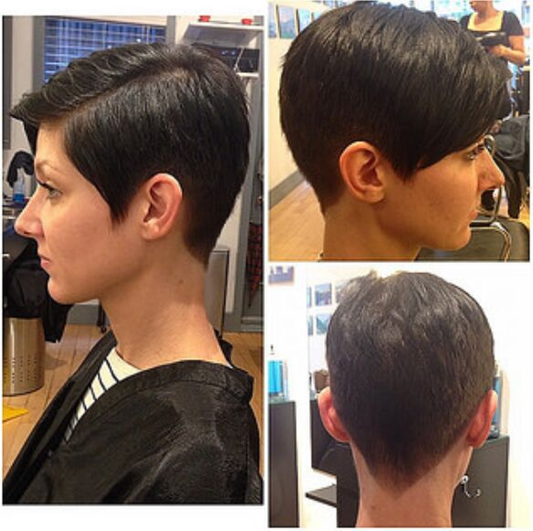 Formal Short Pixie Haircut