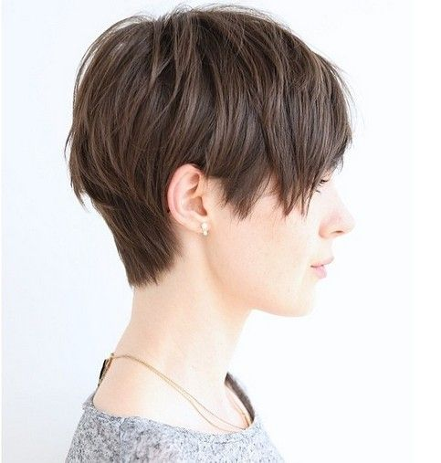 Layered Pixie Haircut Side View - Cute Everyday Hairstyle Ideas for Short Hair