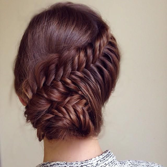 Perfect Braided Updo - Beautiful Long Hair Ideas