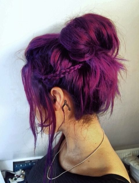 Pretty Purple Hair