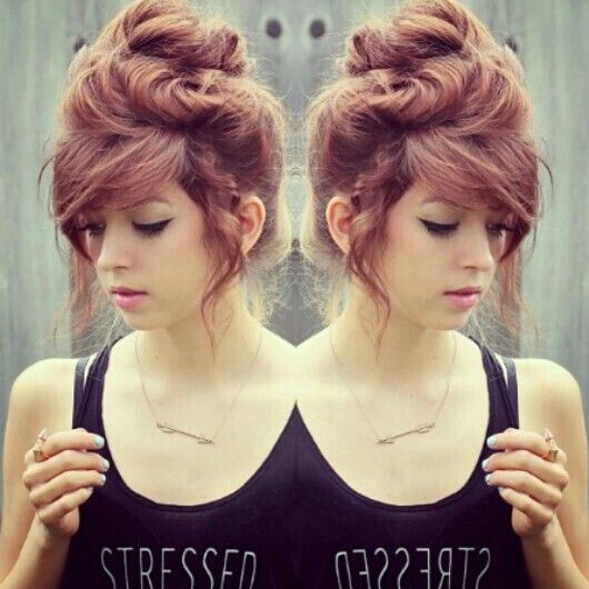 Updo Hairstyle for Girls