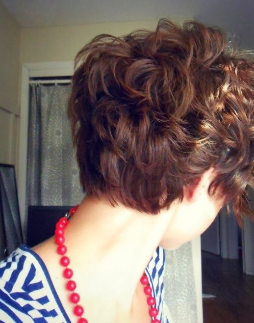 Hairstyles For Short Hair Cute Girl Hairstyles : Very Cute Short Hair for Girls: Short Curly Hairstyles / Via