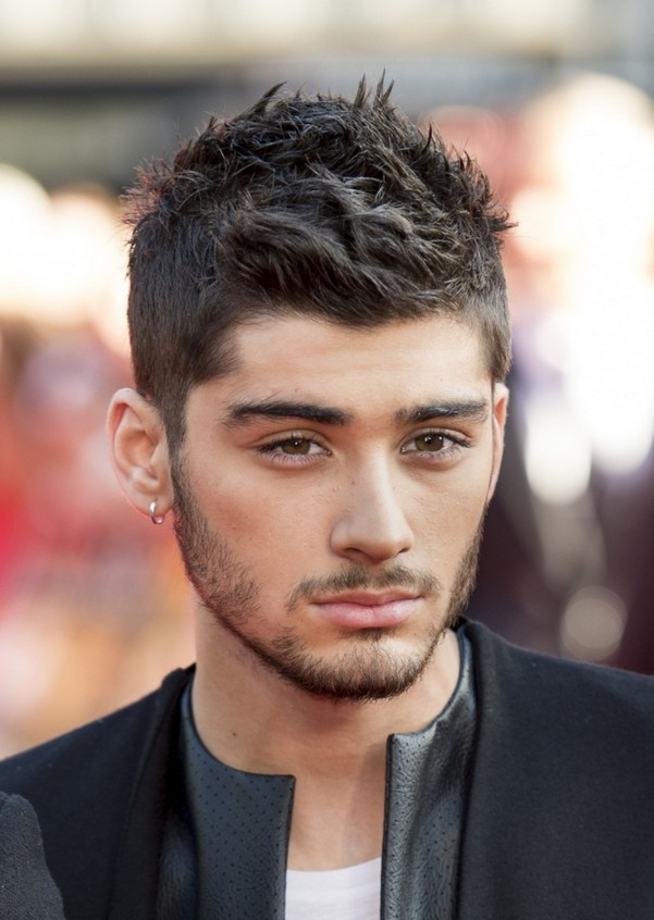 Zayn Malik Short Hairstyle: Spiked Hairstyles for Men