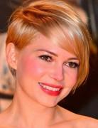 Asymmetrical Long Pixie Cut with Side Bangs - Michelle Williams Short Haircut