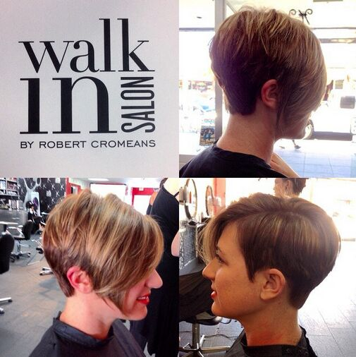 Asymmetrical Short Haircuts for Thick Hair