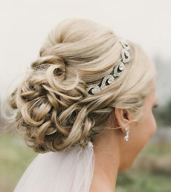 Beautiful updo is the perfect hairstyle to bring out your beauty - Wedding Updos for Medium Hair