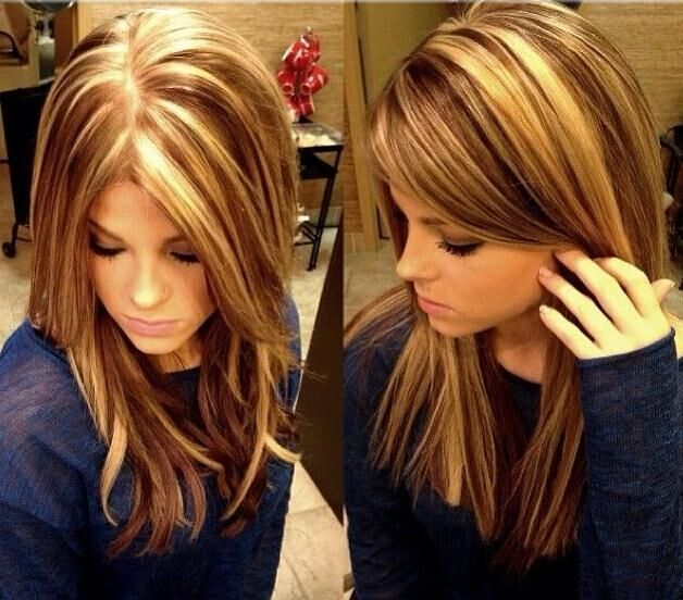 15 pretty hairstyles for medium length hair page 2 of 5 blunt medium straight hair styles highlight lowlights pmusecretfo Gallery