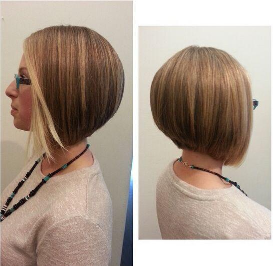Bob Hairstyles with Long Bangs