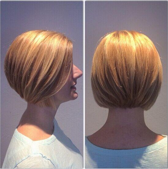 Layered Bob Hairstyles for Short Hair - Summer Haircuts