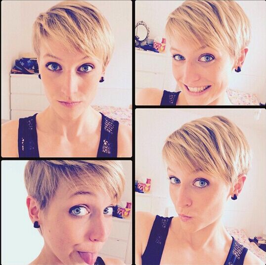Lovely Short Layered Hairstyle