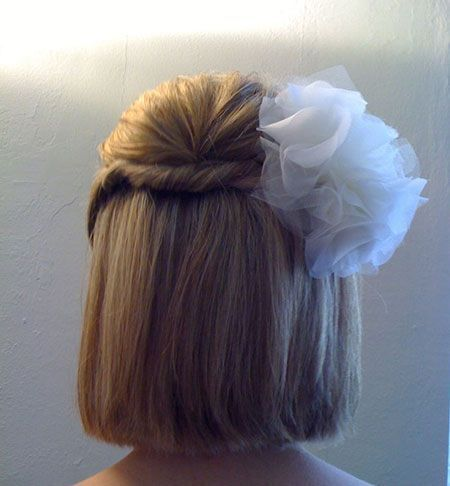 Medium Bob Hair Styles for Wedding
