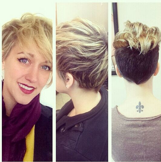 Messy Short Hair Cut with Side Long Bangs -  Hairstyle New Trends!