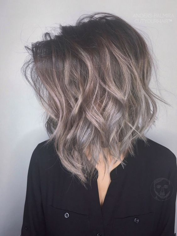Ombre, Balayage Hairstyles for Shoulder Length Hair