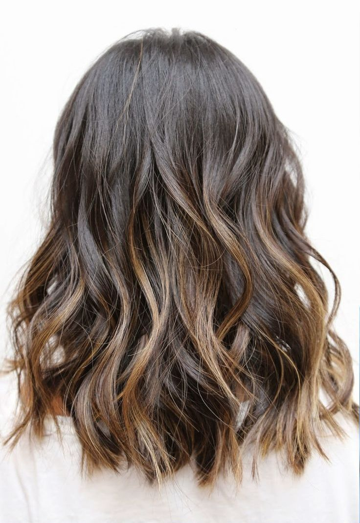Ombre Wavy Hairstyle