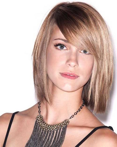 Sleek Side Bangs