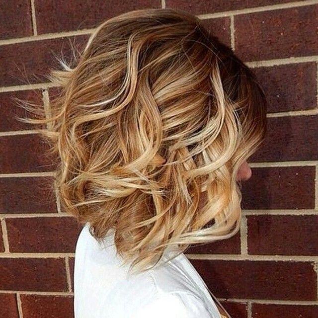 Stylish Medium Wavy Bob Cut With Layers Popular Haircuts