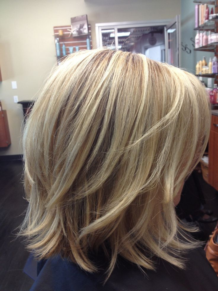 hairstyles layered bob - photo #8