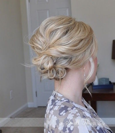 Triple Layer Bun
