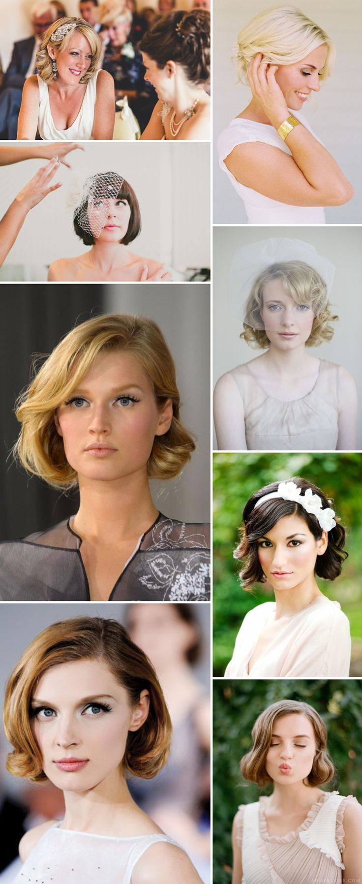 Wedding Hairstyle Ideas for Medium Hair