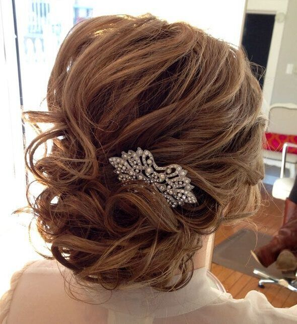 Wedding Hairstyle Ideas for Medium Hair - PoPular Haircuts