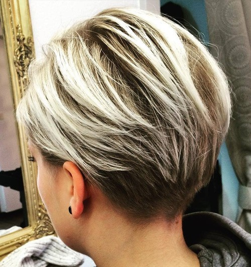 Balayage Pixie Hairstyles Short Haircut For Thick Hair