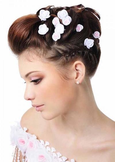 Flowered Hair